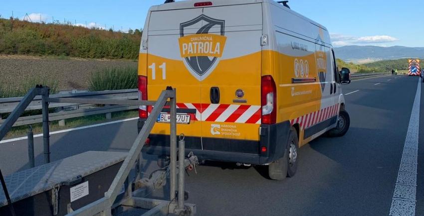 Nešťastie na diaľnici medzi Popradom a Prešovom