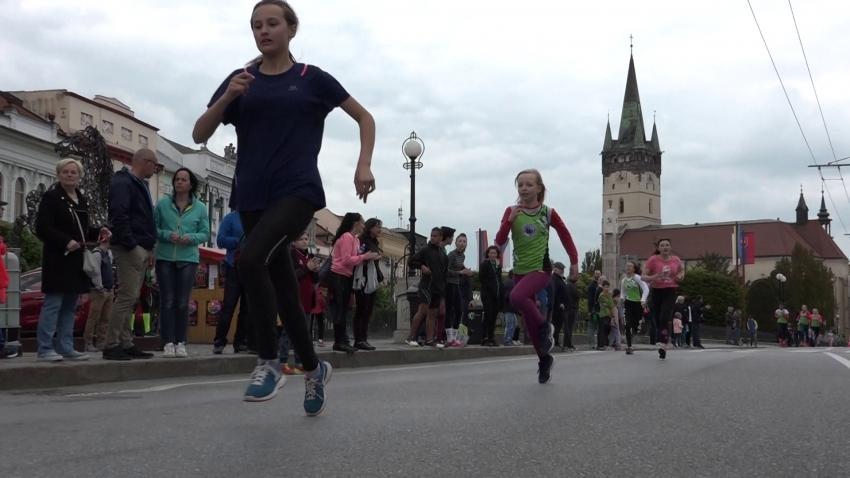 Večerný beh mestom Prešov 2019