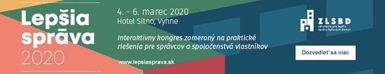 IV. kongres LEPŠIA SPRÁVA 2020 (3. až 6. marec)